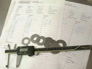Suspension Shims & Bushes
