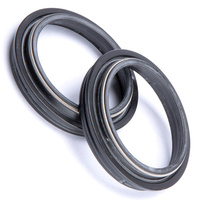 Front Fork Dust Seal Set - 48mm WP for KTM