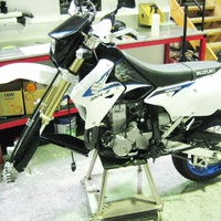 DRZ400E S and SM Suspension Upgrade - Stage 1 image