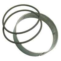 Showa 40mm Shock Piston Ring Kit. 40mm od x 8.0mm tall - Metal