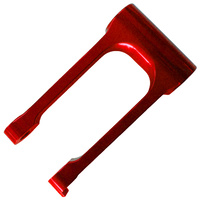 Honda CRF Pull Rod Linkage - 25mm Red 10-13 450 09-12 250 image