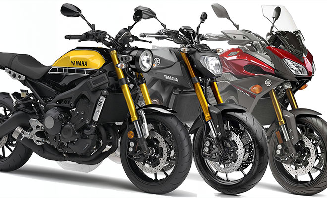 Yamaha MT09 / MT09 Tracer / XSR900 Suspension Tuning